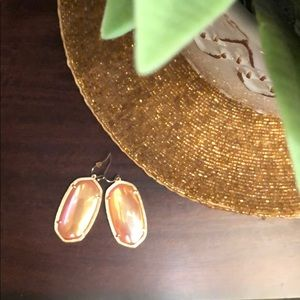 Apricot Kendra Scott Earrings